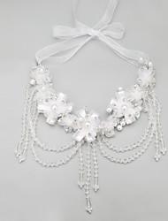 Недорогие -Прозрачный Кристалл Свисающие Прозрачный Ожерелье Бижутерия Назначение Свадьба Годовщина День рождения Обручение Подарок