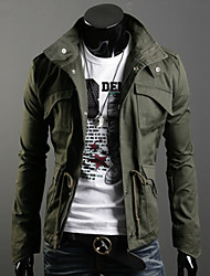 Men's Cultivate One's Morality Fashion Casual Long Sleeve Regular Jacket
