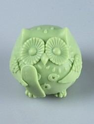 cheap -The Owl ,Animal Soap Mold  Fondant Cake Chocolate Silicone Mold, Decoration Tools Bakeware