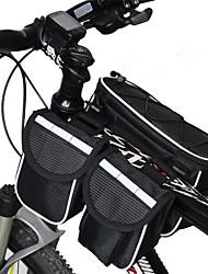 baratos -Acacia Bolsa de Bicicleta <10L Bolsa para Quadro de Bicicleta Á Prova-de-Chuva Multifuncional Bolsa de Bicicleta Ripstop 600D Bolsa de