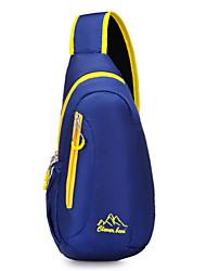 Women Bags All Seasons Nylon Sling Shoulder Bag for Sports Outdoor Black Blue Dark Red