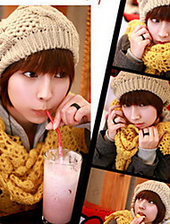 cheap -Women Wool Blend Twistedwire Globular Knitted Hats