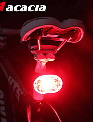 Bike Lights Rear Bike Light Safety Lights - LED Cycling Easy Carrying Button Battery Lumens Battery Cycling/Bike-Acacia®