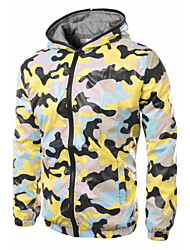 cheap -Men's Classic & Timeless Parka Down - Print Multi Color, Formal Style