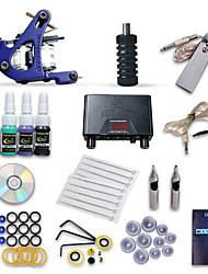 dragonhawk® démarreur tatouage kit 1 4 encres aiguilles d'alimentation s machines
