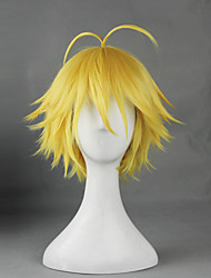 cheap -Cosplay Wigs The Seven Deadly Sins Cosplay Anime Cosplay Wigs 30 CM Heat Resistant Fiber Men's Women's