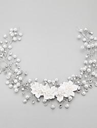 cheap -Imitation Pearl Rhinestone Alloy Headbands 1 Wedding Special Occasion Headpiece