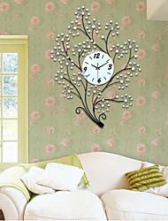 lusso moderno coclea stabilita orologio da parete di design