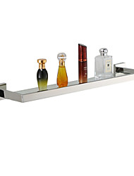 cheap -Bathroom Shelf Contemporary Stainless Steel 1 pc - Hotel bath
