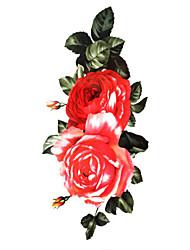 Недорогие -Временные тату Тату с цветами Non Toxic Waterproof Ребенок Для детей Женский Girl Мужской Взрослый Boy Подростки Вспышка татуировки