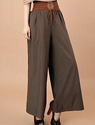cheap -Women's Fashion Wide Leg Spring Casual Loose Pants More Colors