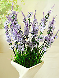 cheap -High Quality Artificial Flowers for Home Decoration Bright Color Lavender Silk Flower for Wedding Decorations