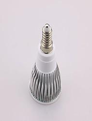 E14 Faretti LED MR16 15 leds SMD 5630 650lm Luce fredda 6500 AC 85-265