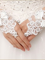 Lace Wrist Length Glove Bridal Gloves Party/ Evening Gloves Elegant Style