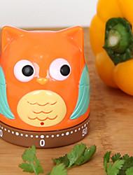 1 pezzi Kitchen Timer For Per utensili da cucina Metallo Plastica Cucina creativa Gadget Originale