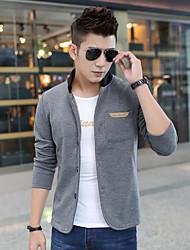preiswerte -Herren Freizeit Activewear Sets  -  Einfarbig Lang Baumwolle
