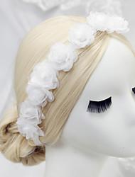 couronne de noeuds polyester headpiece mariage élégant style féminin