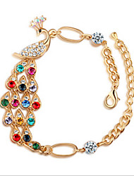 cheap -MISSING U Crystal / Alloy / Rhinestone Bracelet Chain & Link Bracelets Daily / Casual 1pc