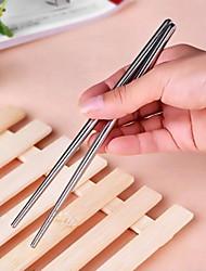 utensili da cucina - bacchette di acciaio inossidabile (1 coppia)