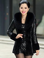Women Faux Fur Top , Lined