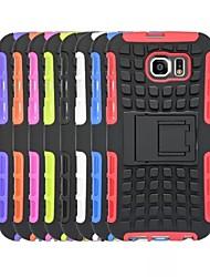 economico -Custodia Per Samsung Galaxy Samsung Galaxy Custodia Resistente agli urti Per retro Armatura PC per S6 edge / S6 / S5