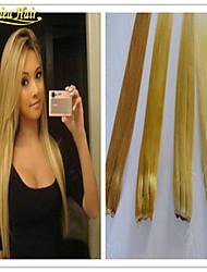 abordables -Serre tête Extensions de cheveux humains Cheveux humains Droit Femme Quotidien