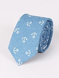 Corbatas (Azul/Azul Claro , Algodón)- Modelo