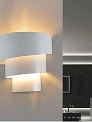 abordables -LED Flush Mount appliques murales, Moderne/Contemporain E26/E27 Métal