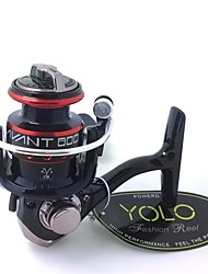 800 Size Europe Hot Sale CNC Aluminum Handle Spinning Fishing Reels Mini Ice Fishing Reels