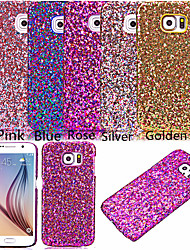 cheap -Case For Samsung Galaxy Samsung Galaxy Case Rhinestone Back Cover Glitter Shine PU Leather for S7 edge / S7 / S6