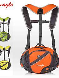 billiga Sport och friluftsliv-OSEAGLE 10L Ryggsäckar / Magväskor / Cykling Ryggsäck - Bärbar, Multifunktionell, Reflexremsa Camping, Klättring, Cykling / Cykel Nylon