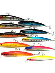 povoljno -4 kom Minnow Csali Minnow Tvrde plastike Morski ribolov Slatkovodno ribarstvo Ribolovni mamac