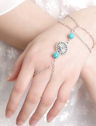 billige -Kæde & Lænkearmbånd - Unikt design, Vintage, Fest Armbånd Skærmfarve Til Fest Gave Valentine