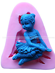 angel girl Form Fondantform Kuchendekoration Form