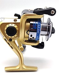 cheap -Fishing Reel Spinning Reels 5.1:1 Gear Ratio+3 Ball Bearings Exchangable Bait Casting Ice Fishing Spinning Freshwater Fishing Other