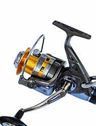 Newest  Design 5.2:1 10 Ball Bearings Carp Fishing Reel Spinning Reels Surf Reels Metal Reels