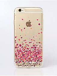 cheap -MAYCARI®Paved with Love Transparent TPU Back Case for iPhone 5/iphone 5s