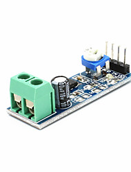 cheap -Lm386 Audio Amplifier Module 200 Times 5V-12V Input 10K Adjustable Resistance Drop