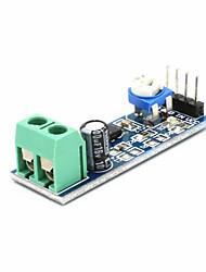 baratos -módulo de amplificador de áudio lm386 200 vezes entrada de 5v-12v 10k queda de resistência ajustável
