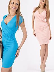 povoljno -Žene Chic & Moderna Bodycon Haljina - Moderna Jedna boja, Jedna barva