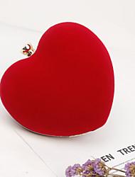 economico -Donna Sacchetti Metallo Borsa da sera Crystal / Rhinestone per Matrimonio Serata/evento Formale Per tutte le stagioni Nero Rosso