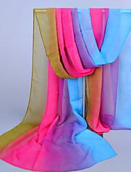 cheap -Women's Chiffon Colorful Print Scarf