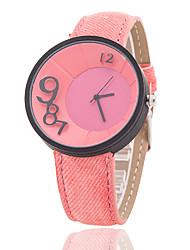 cheap -Xu™ Women's Denim Belt Three-dimensional Digital Quartz Watch Cool Watches Unique Watches
