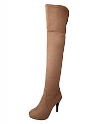 cheap -Women's Shoes   Heels / Fashion Boots Boots Outdoor / Office & Career / Casual Stiletto Heel OthersBlack  &812