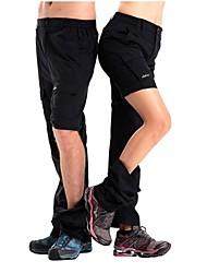 Damen Wanderhosen Rasche Trocknung tragbar Atmungsaktiv Leichtes Material Tasche auf der Rückseite Hosen/Regenhose Unten für Camping &