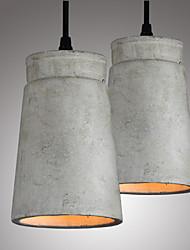 cheap -The Nordic Minimalist Retro Pendant Light Cement Vintage Lamp Restaurant Dining Room Coffee Hall Lighting Fixture