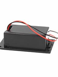 Недорогие -9В батарея + Т-типа пряжки кейс комплект - черный