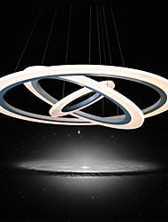 Недорогие -UMEI™ Круглый Подвесные лампы Рассеянное освещение - LED, 90-240 Вольт, Теплый белый / Белый, Светодиодный источник света в комплекте