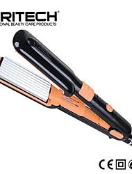 Недорогие -pritech бренд 2 в 1 идеально подходит для завивки волос алюминиевая пластина шириной плоского железа Выпрямитель для волос магия ролика