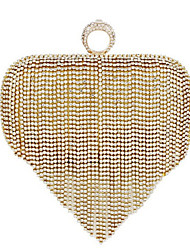 cheap -Women's Bags PU(Polyurethane) Evening Bag / Bi-fold Pearl Gold / Silver